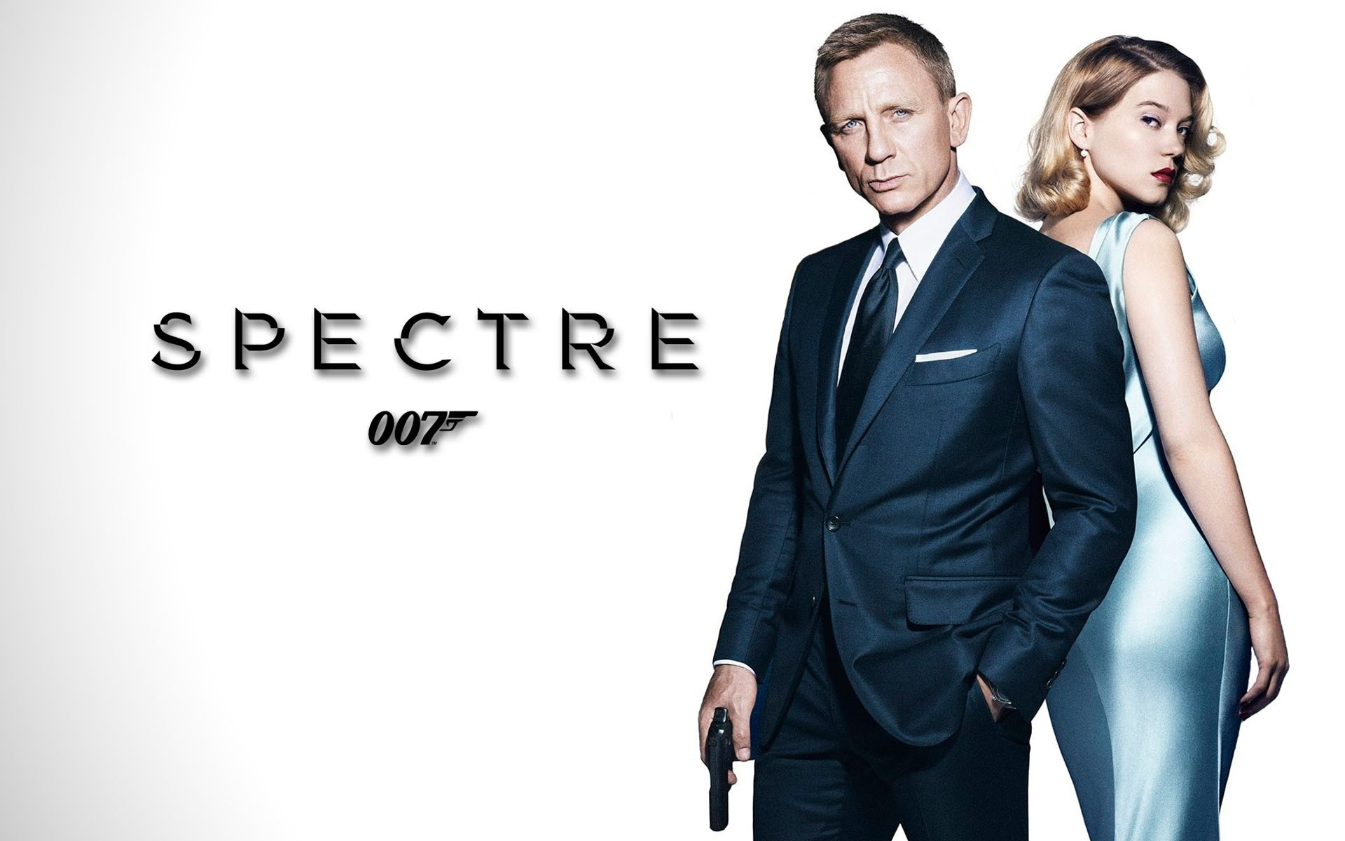 Daniel Craig James Bond Spectre Movie Wide HD Wallpaper 1920x1200