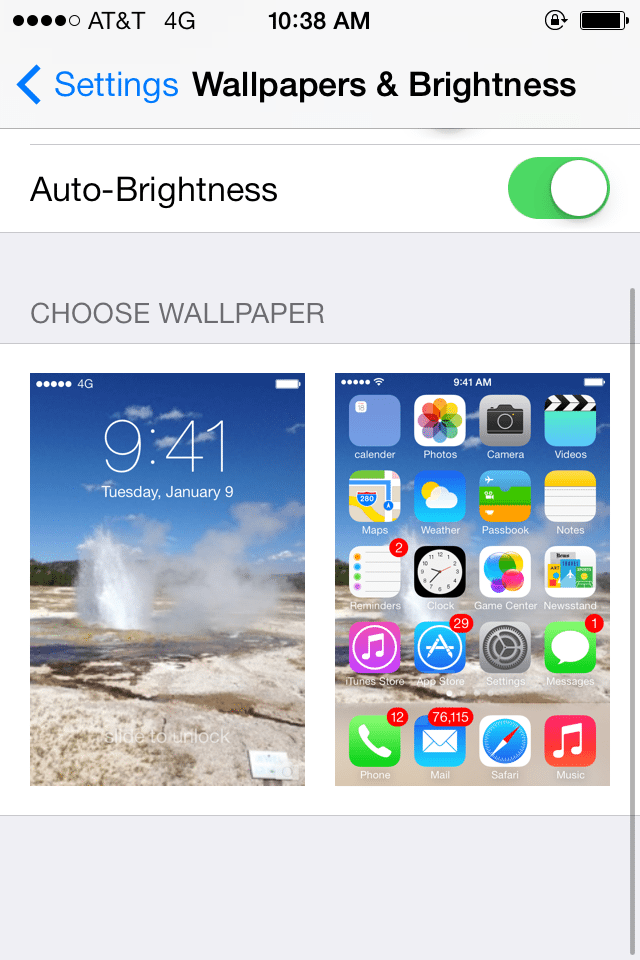 How to Create an Eye Mesmerizing Parallax Wallpaper in iOS 7 appgame 640x960