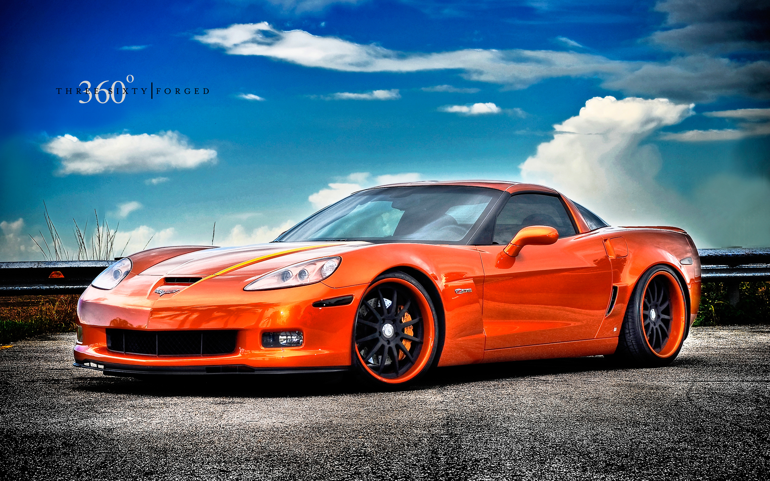 Corvette Z06 on 360 Forged Wheels Wallpaper HD Car Wallpapers 2560x1600