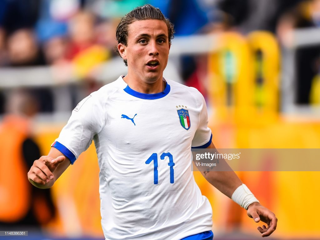 Luca Pellegrini of Italy U20 during the FIFA U 20 World Cup Poland 1024x768
