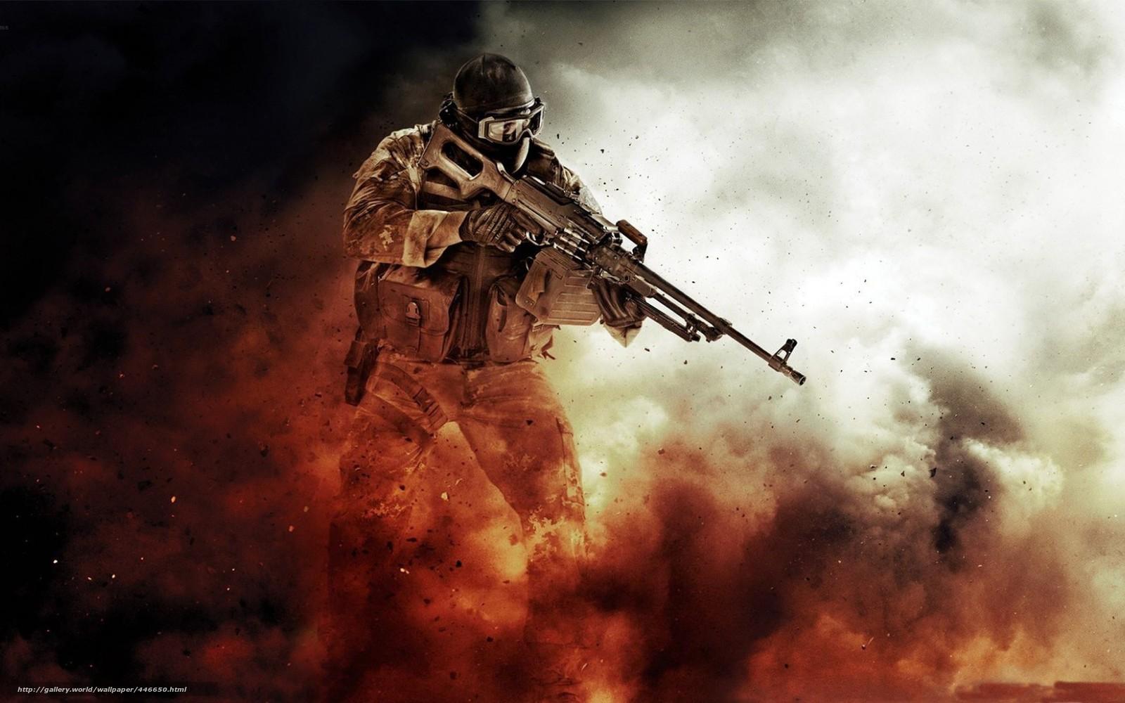 wallpaper soldier Special Forces game desktop wallpaper 1600x1000