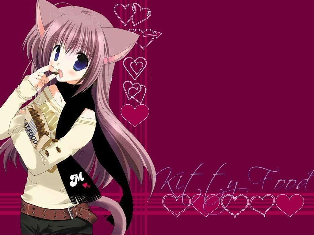 Cute Neko Wallpaper Cute Neko Desktop Background 1024x768
