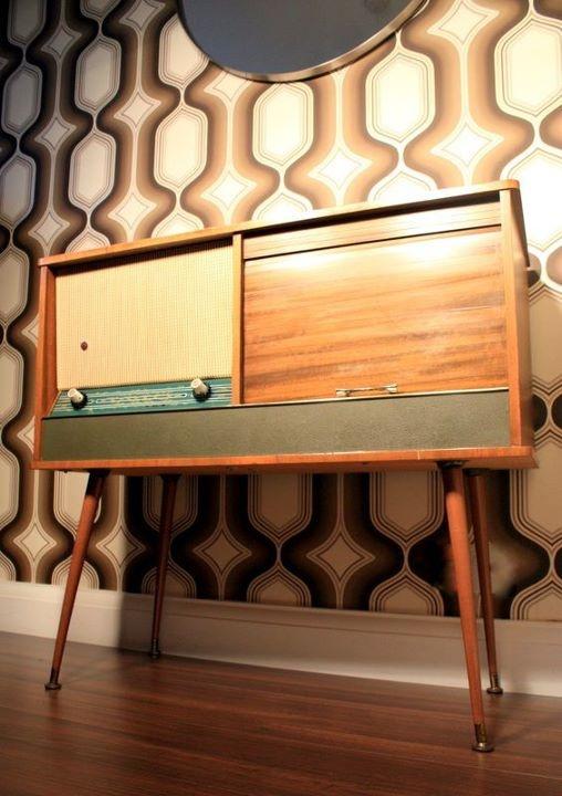 Vintage Console Table Hallway