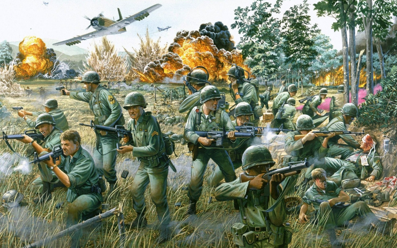Battle Of Ia Drang 1280 x 800 Download Close 1280x800