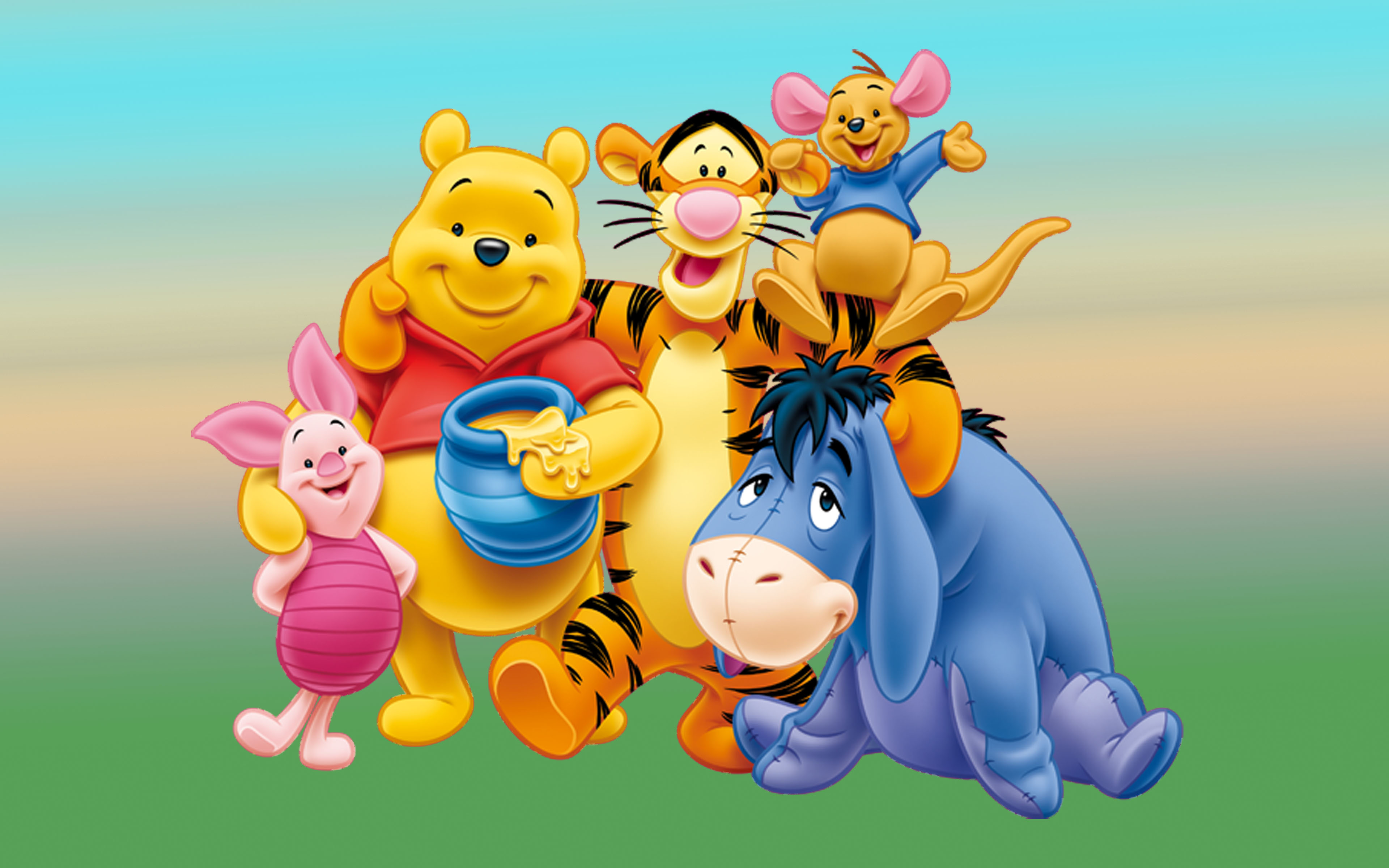Winnie The Pooh Characters   Image Mag 3840x2400