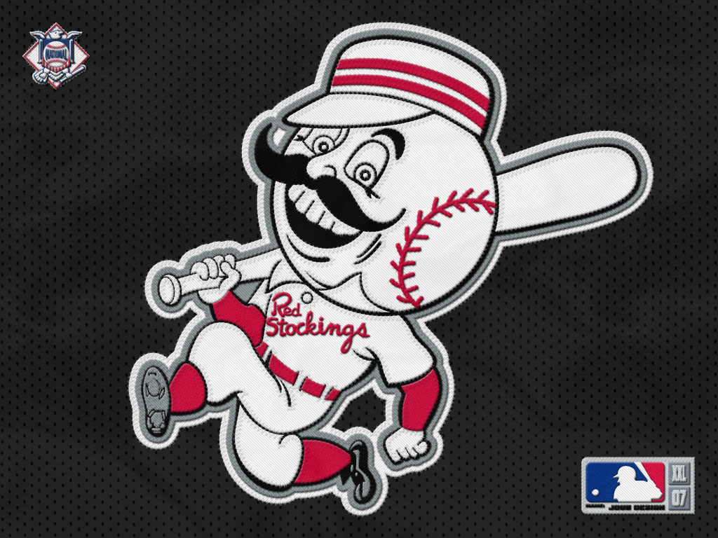 Download Reds Wallpaper Cincinnati reds mascot2 [1024x768] 49 1024x768