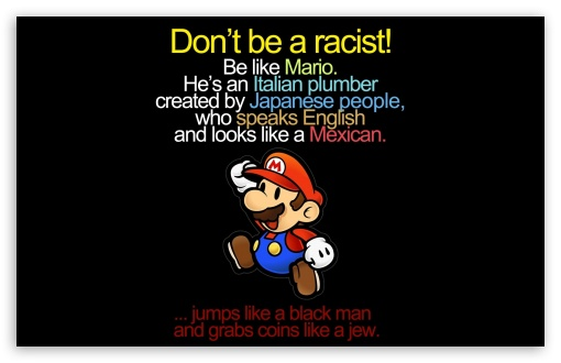 Mario Funny HD desktop wallpaper Widescreen High Definition 510x330