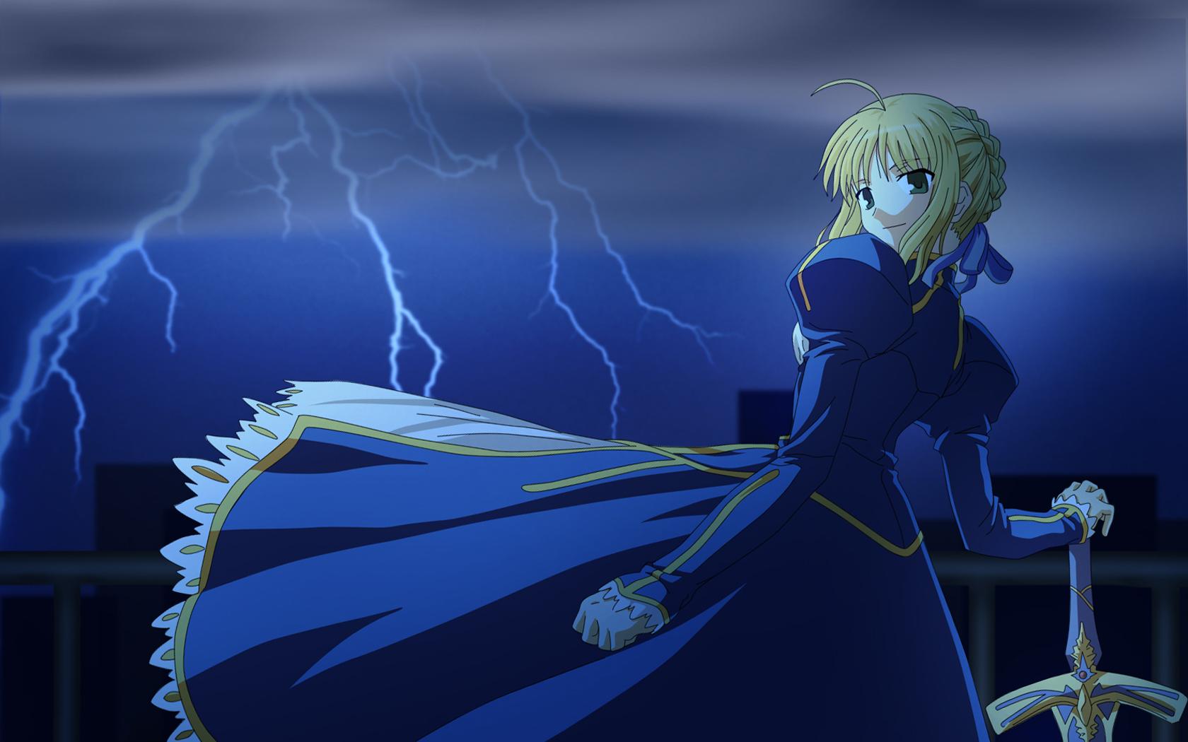 fatestay night saber konachancom   Konachancom Anime Wallpapers 1680x1050