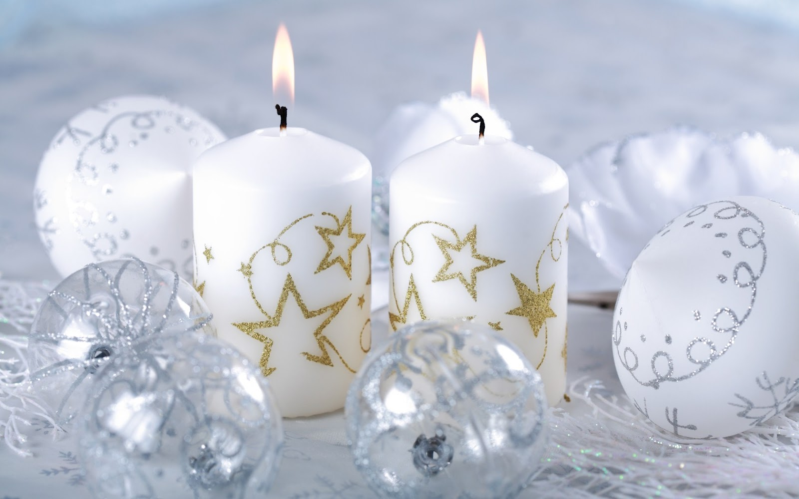 Candles Wallpapers For Christmas Star Xmas Tree Snowman Candy Are 1600x1000