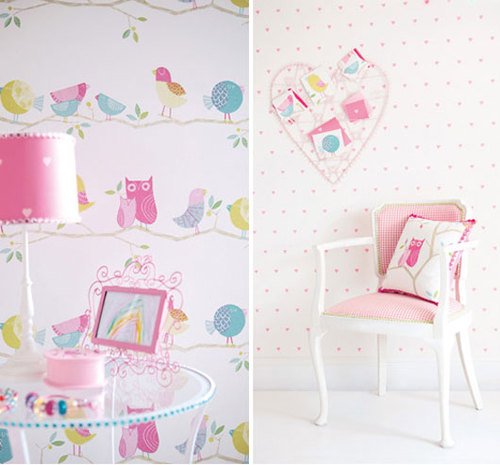 Cool Wallpaper For Girls Room 500x465