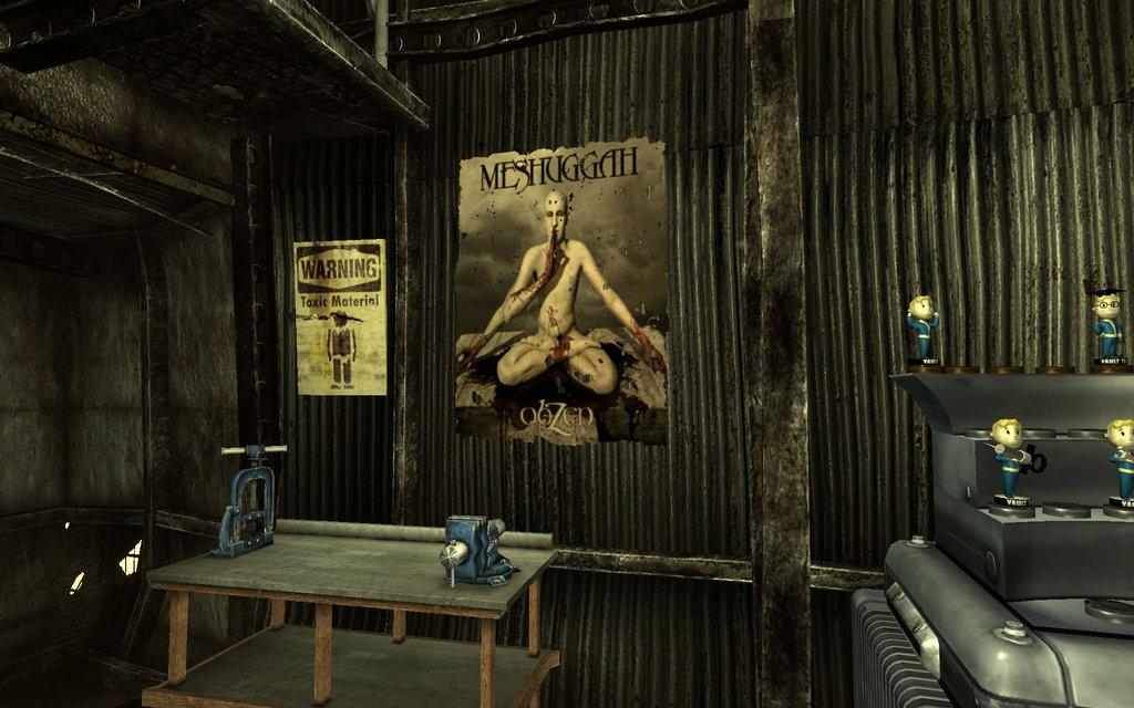Fallout 3   Meshuggah Poster by rawart 1024x640
