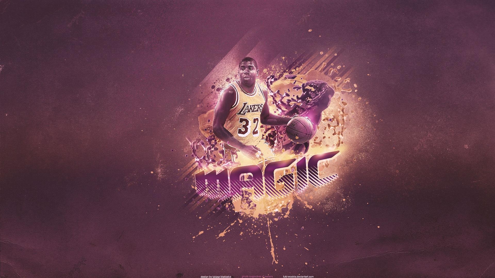 Download magic lakers nba wallpaper HD wallpaper 1920x1080