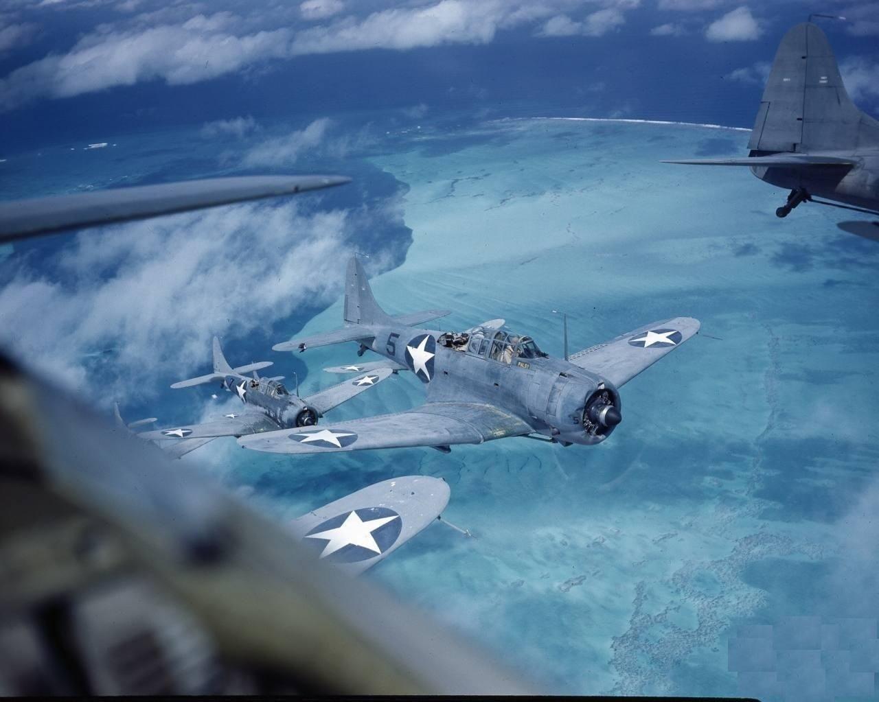 Gray plane artwork painting airplane Douglas SBD Dauntless HD 1280x1023