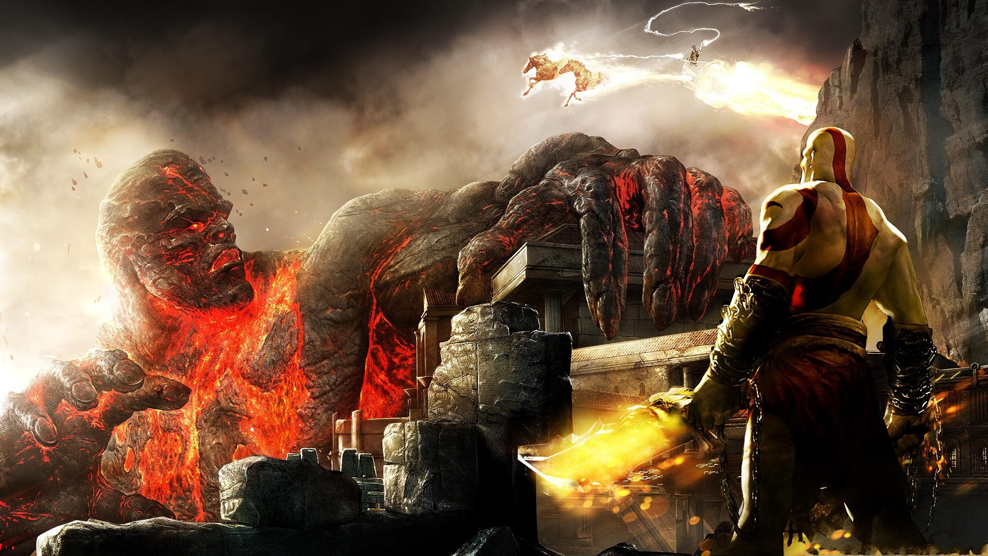 Free Download God Of War Wallpaper 738632 1920x1080 For Your