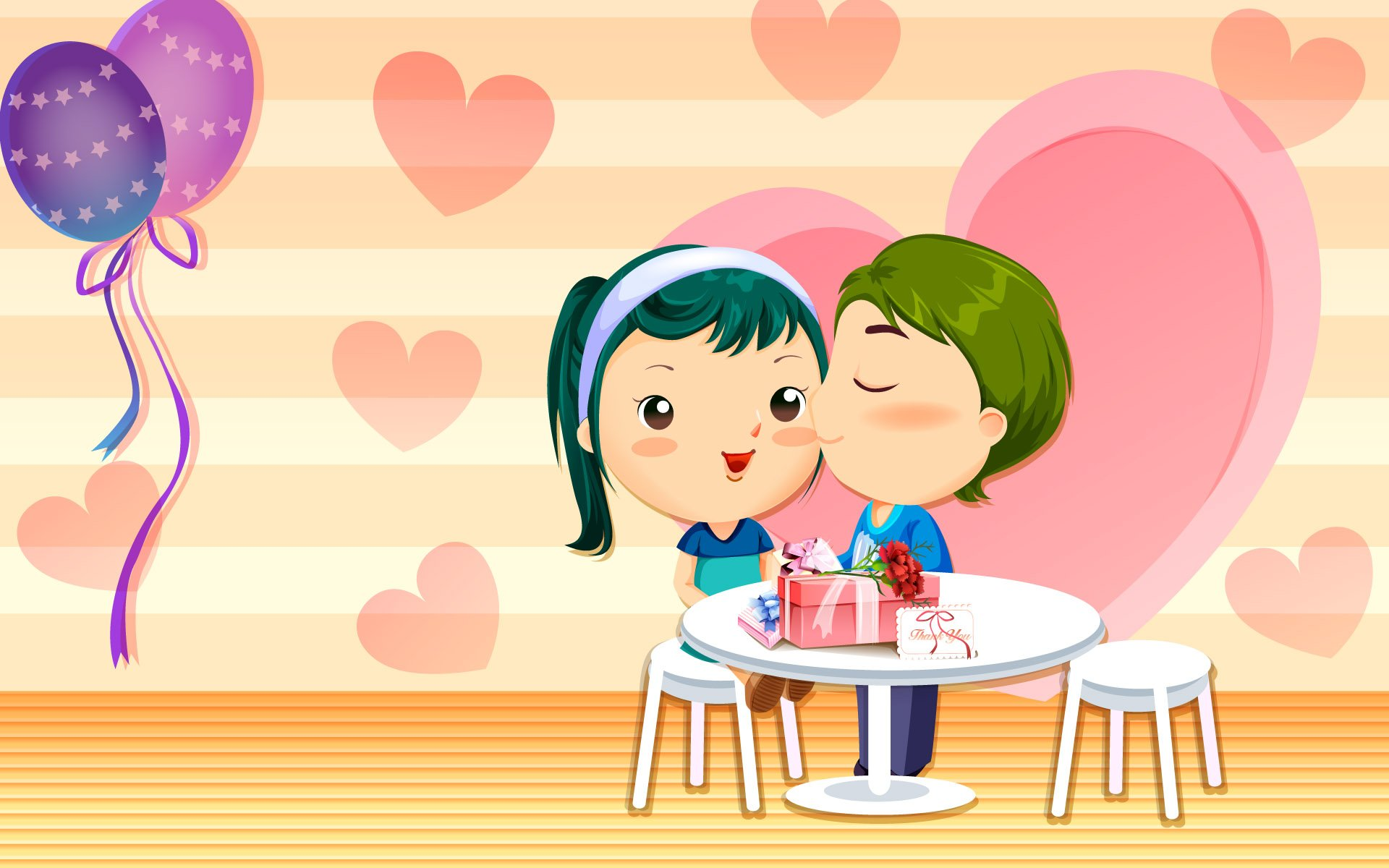 cartoon valentine wallpaper for computer wallpapersafari