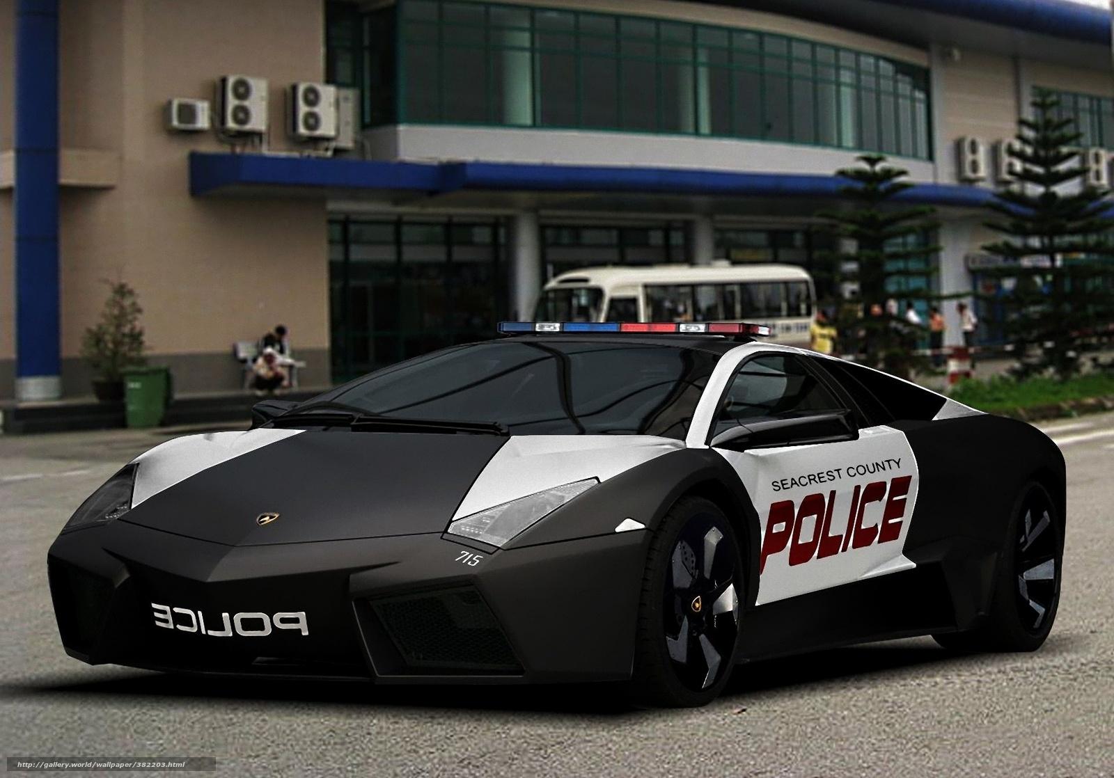 wallpaper Car police Lamborghini cars desktop wallpaper 1600x1118