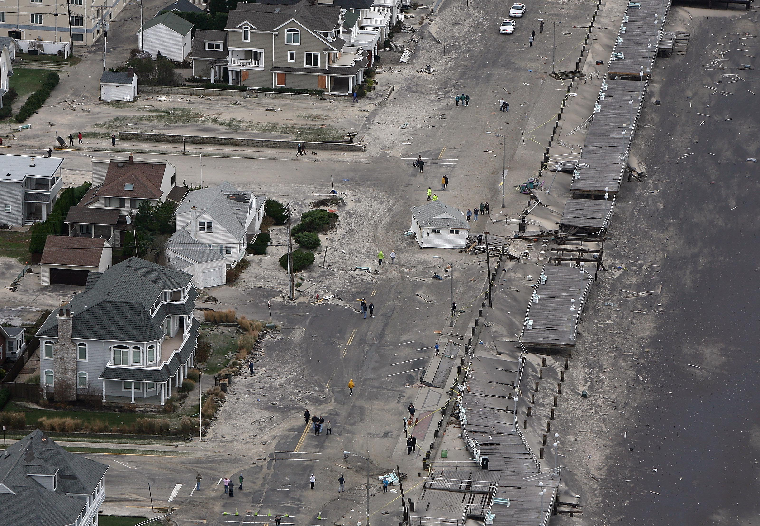 New Jerseyans Begin Assessing Damage from Hurricane Sandy NJTV News 3200x2214