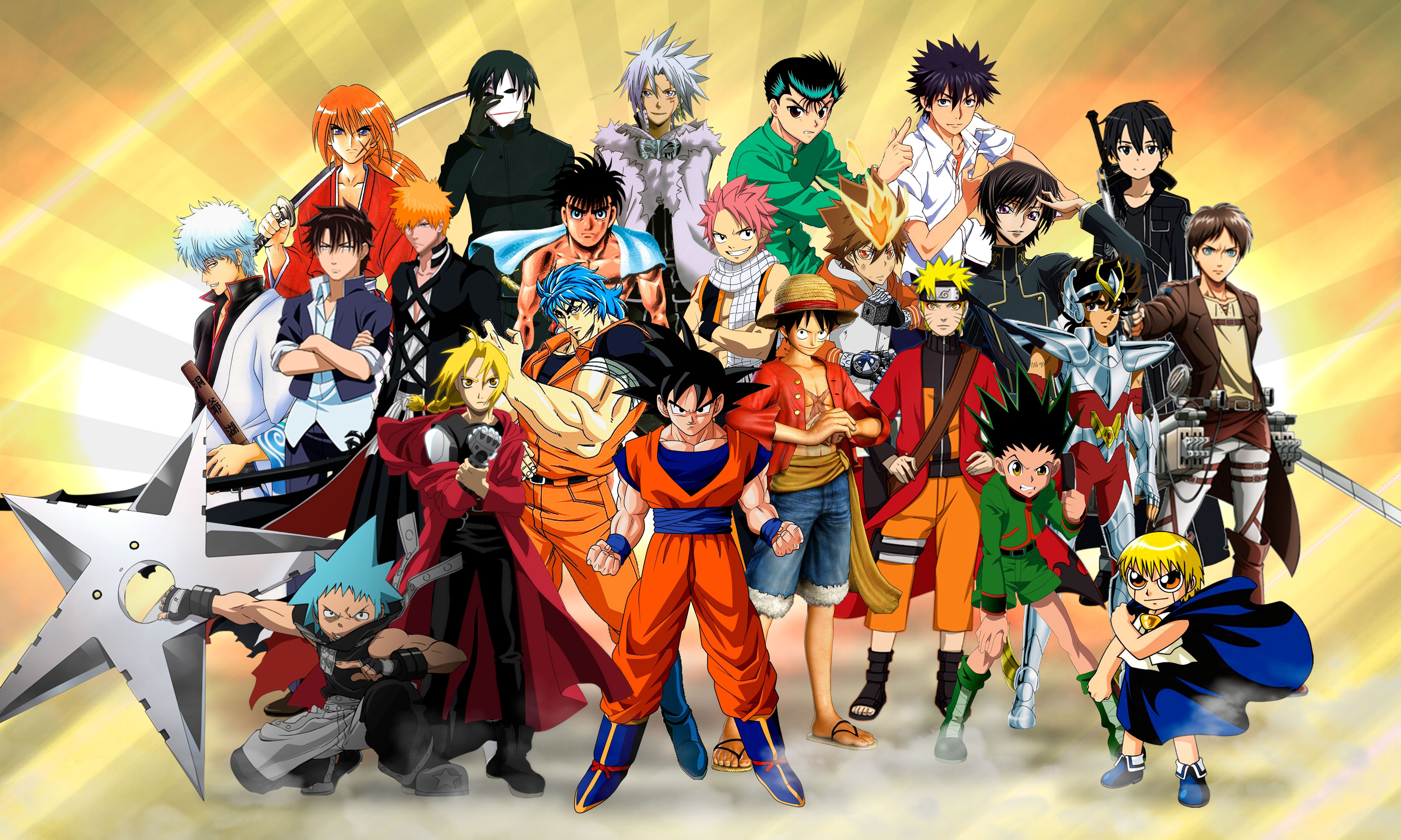 Anime Characters Attack Of The Titans Wallpapers And