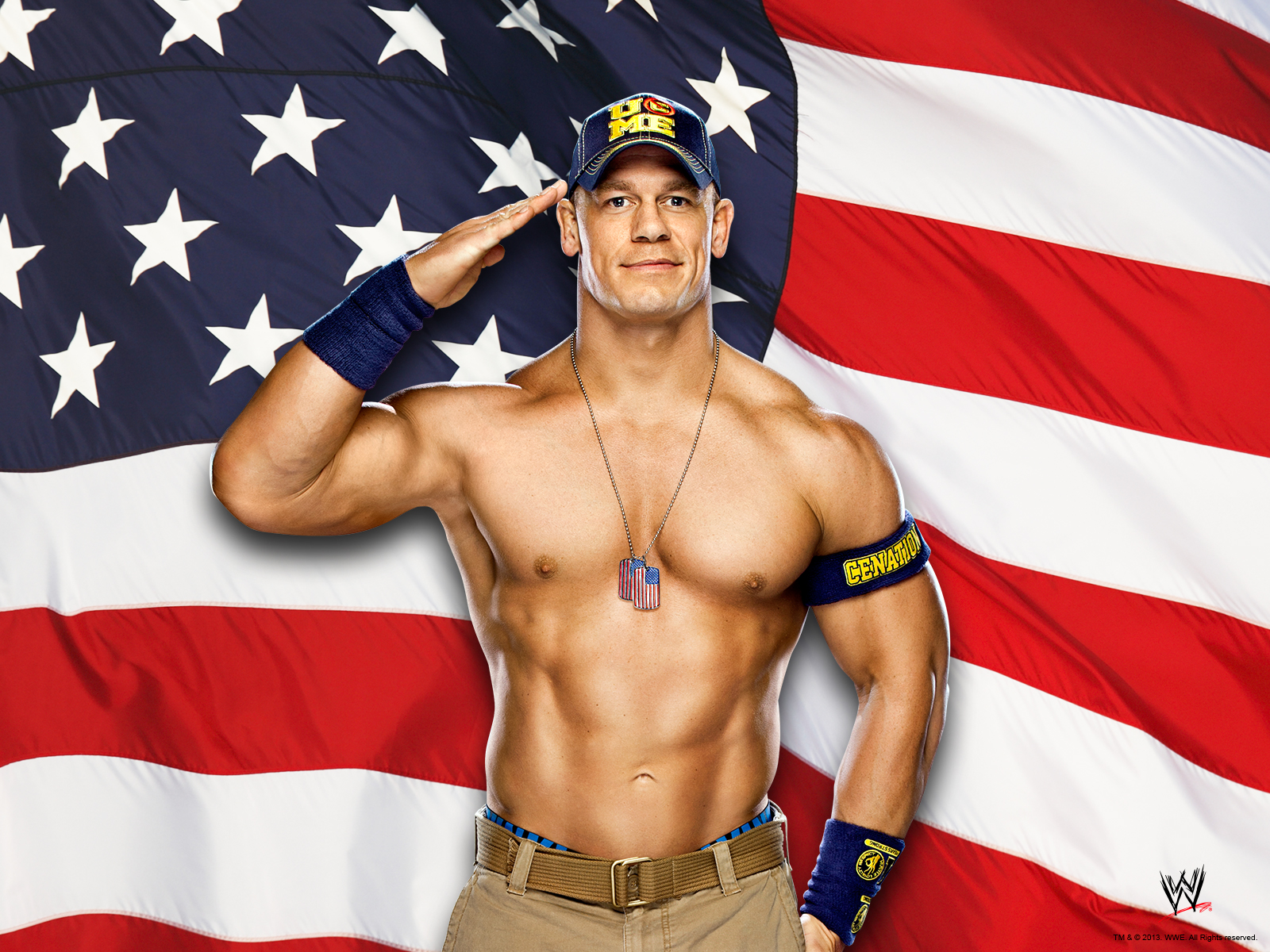 John Cena Wallpaper   WWE Wallpaper 36843521 1600x1200