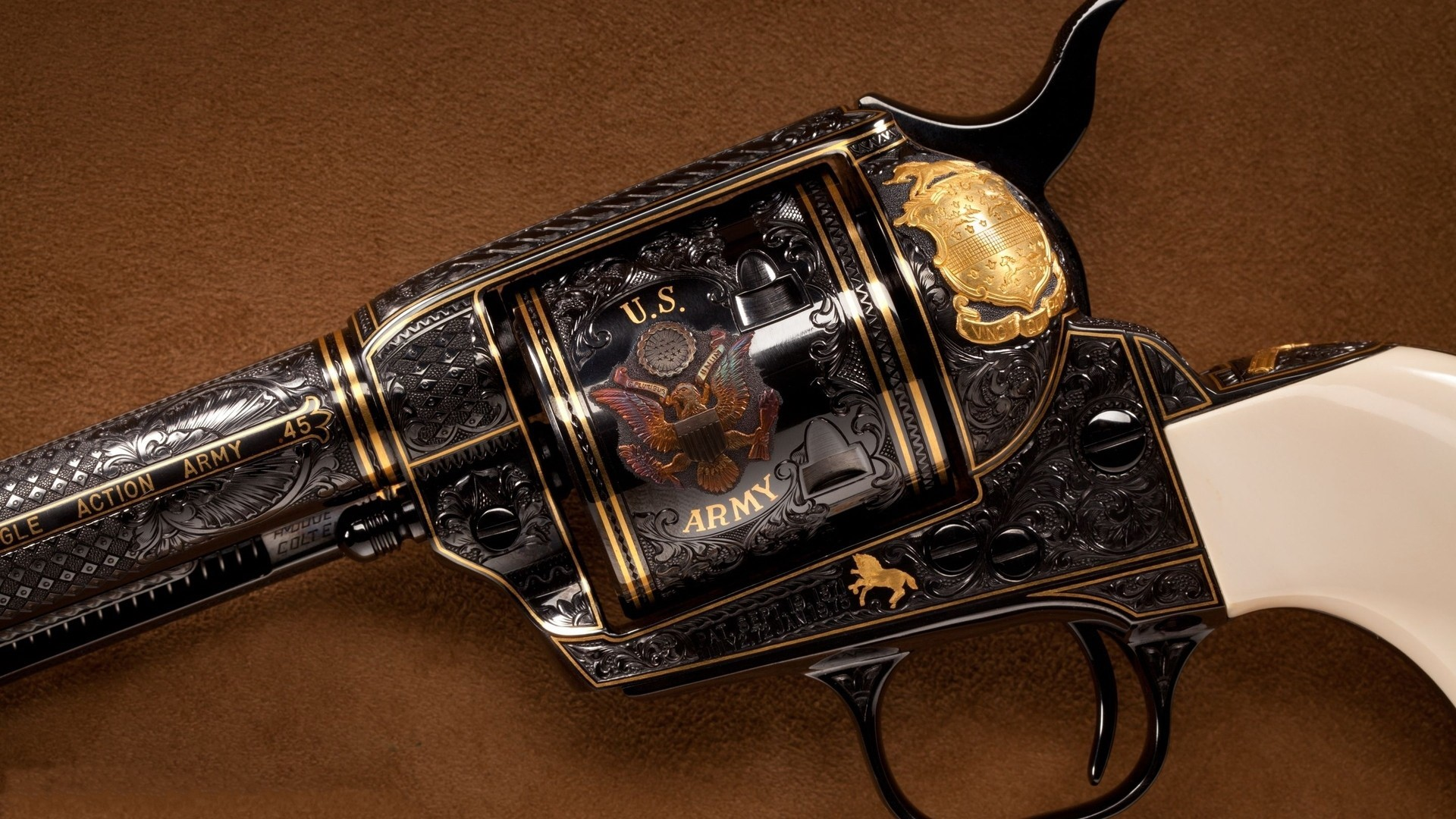 Colt Hand Gun Revolver HD Desktop Images HD Wallpapers 1920x1080