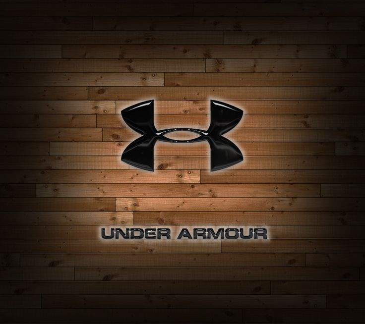 UnderArmourLogoWallpaper Under Armour Wood Animals 736x654