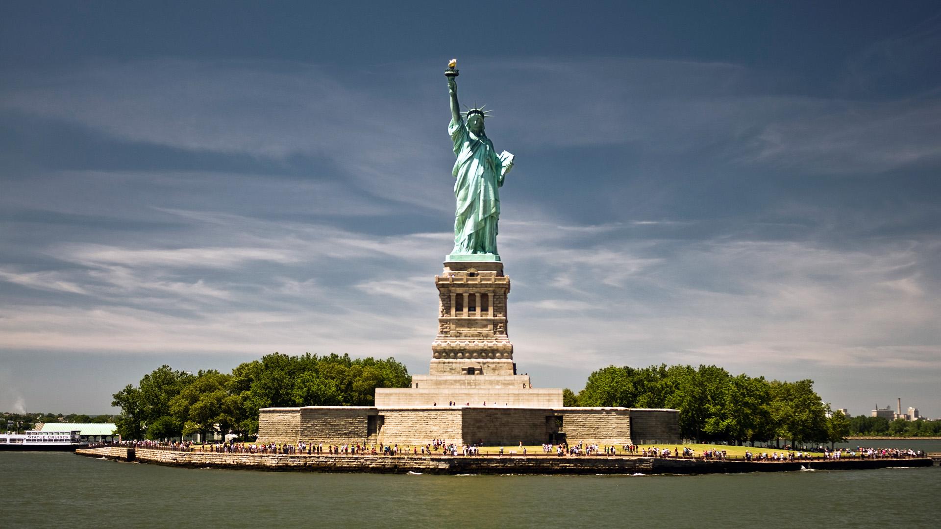 Wondrous Statue Of Liberty Wallpaper   Travel HD Wallpapers 1920x1080