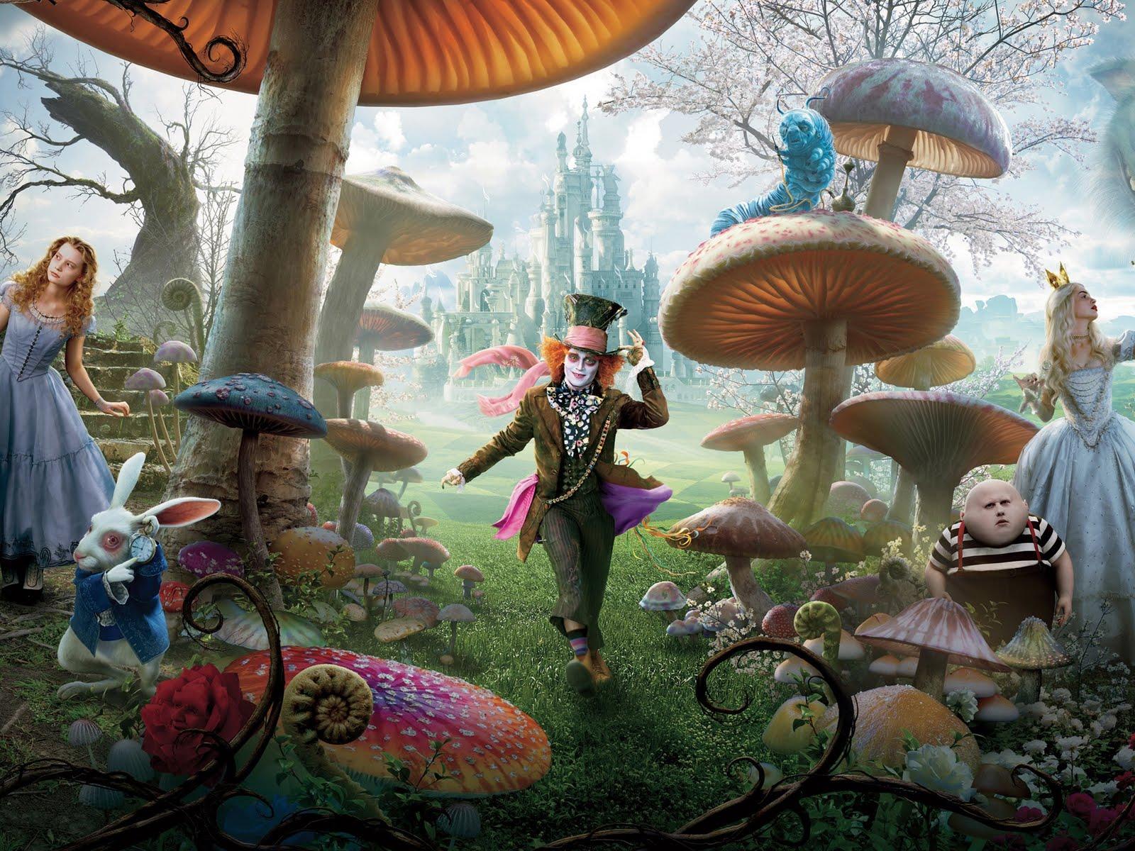 49+ Alice in Wonderland Caterpillar Wallpaper on WallpaperSa