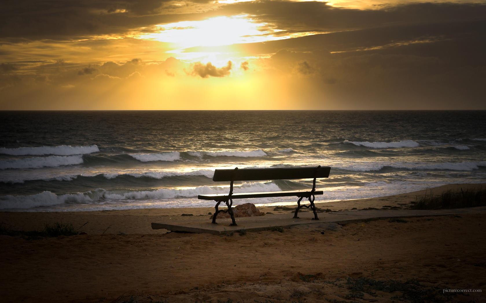 Beach Sunset Wallpaper Desktop 2011 Best Wallpaper 1680x1050
