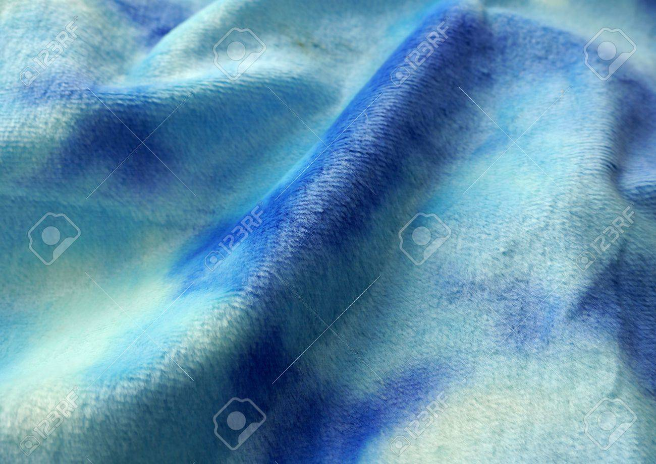 BLUE MATTED FLANNEL FABRIC BACKGROUND Stock Photo Picture And 1300x921
