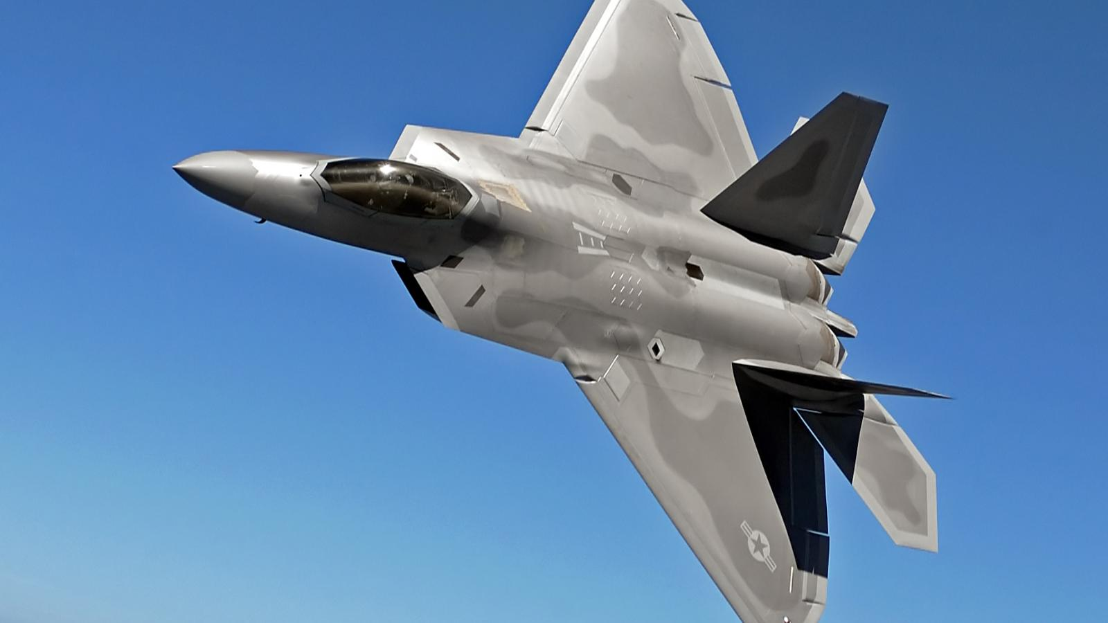 aircrafts military raptor f 22 f22 HD Wallpaper   Army Military 1600x900