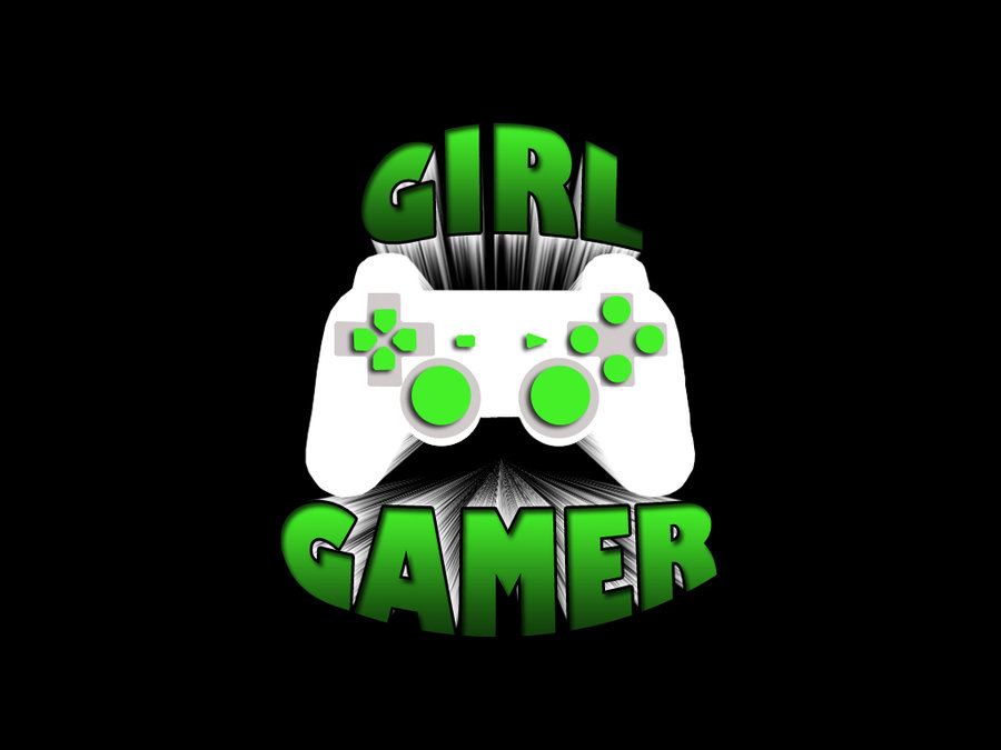 Girl Gamer Wallpaper by StirFryKitty 900x675