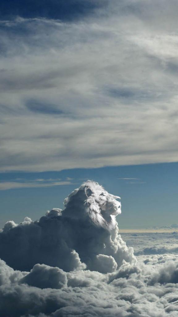 Lion King Cloud Wallpaper   iPhone Wallpapers 576x1024