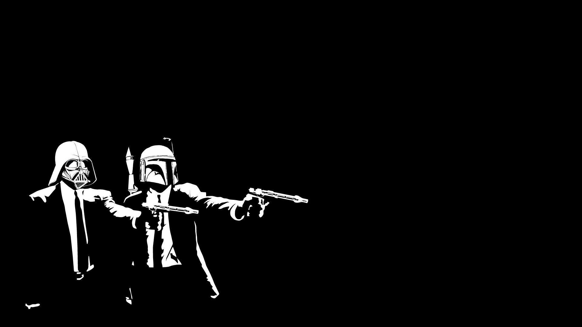 Star Wars Pulp Fiction Wallpaper Wallpapersafari
