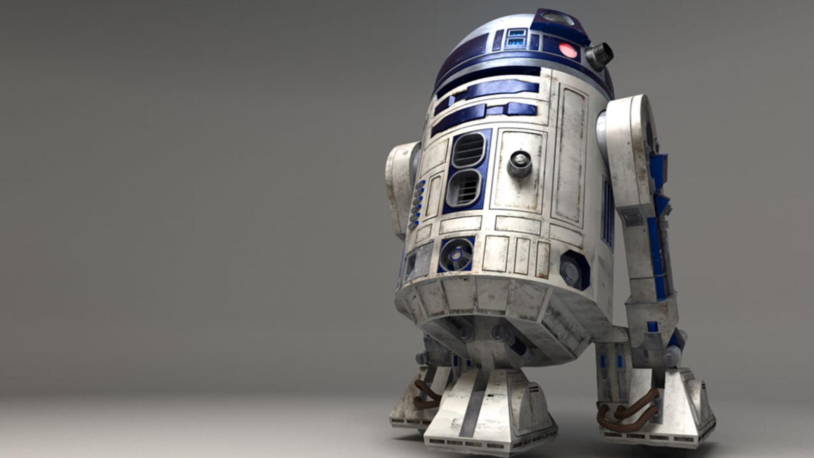 Star Wars Wallpaper 1600x900 Star Wars CGI R2D2 3D 1600x900