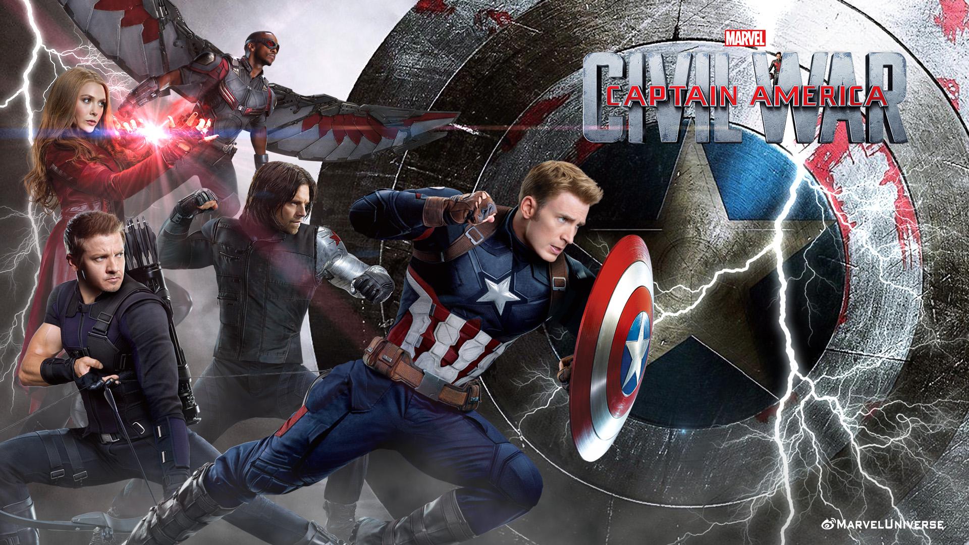 MOVIE TRAILERS  images Captain America Civil War Fanart HD 1920x1080
