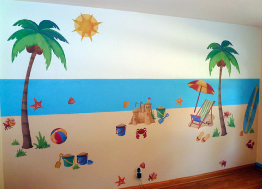 47 Beach Theme Wallpaper For Walls On