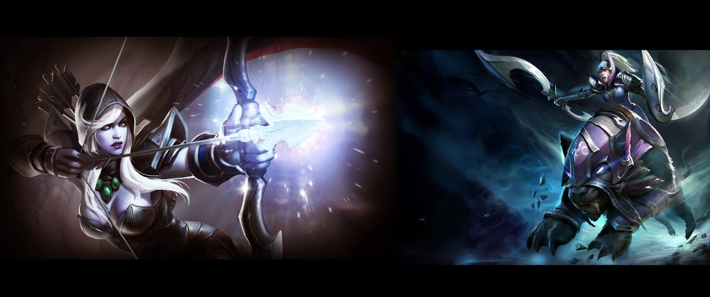 Wallpaper 3440x1440 Dota2 Game Char 14123235 Silve by MrIreheart on 1024x429