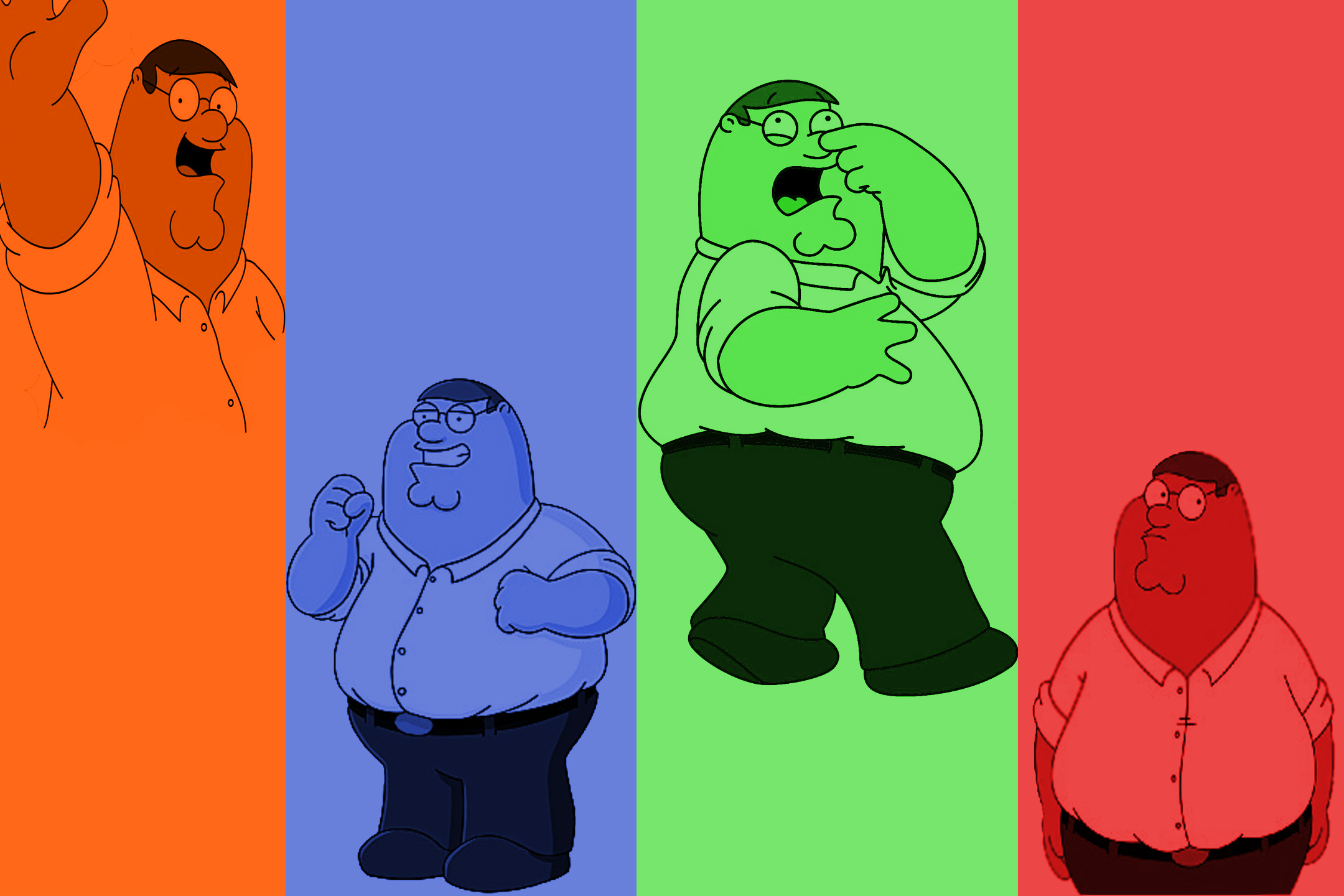 Family Guy Peter Wallpaper 2160x1440