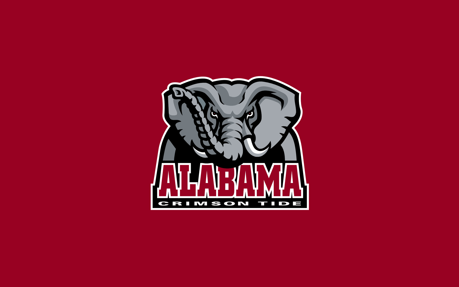 Alabama Crimson Tide Football Logo alabama football 1920x1200
