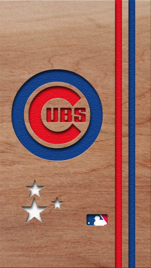 Chicago Cubs iPhone Background 576x1024