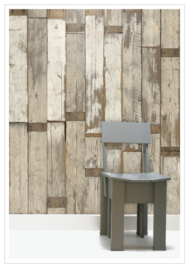 scrapwood wallpaper Kishani Perera 724x1024