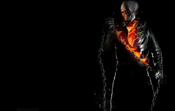 fire flame ghost rider ghost rider wallpapers photos pictures 596x380