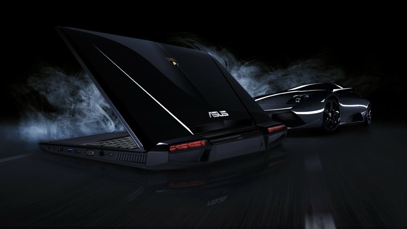 black lamborghini asus notebook 1920x1080 wallpaper Technology Asus HD 800x450
