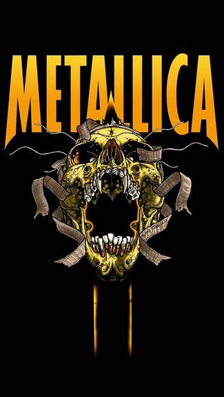 Metallica Wallpaper iPhone - WallpaperSafari