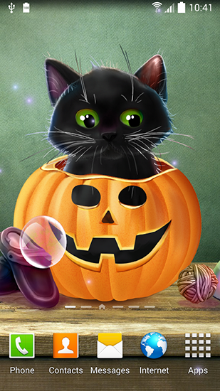 Cute Halloween live wallpaper for Android Cute Halloween 309x550