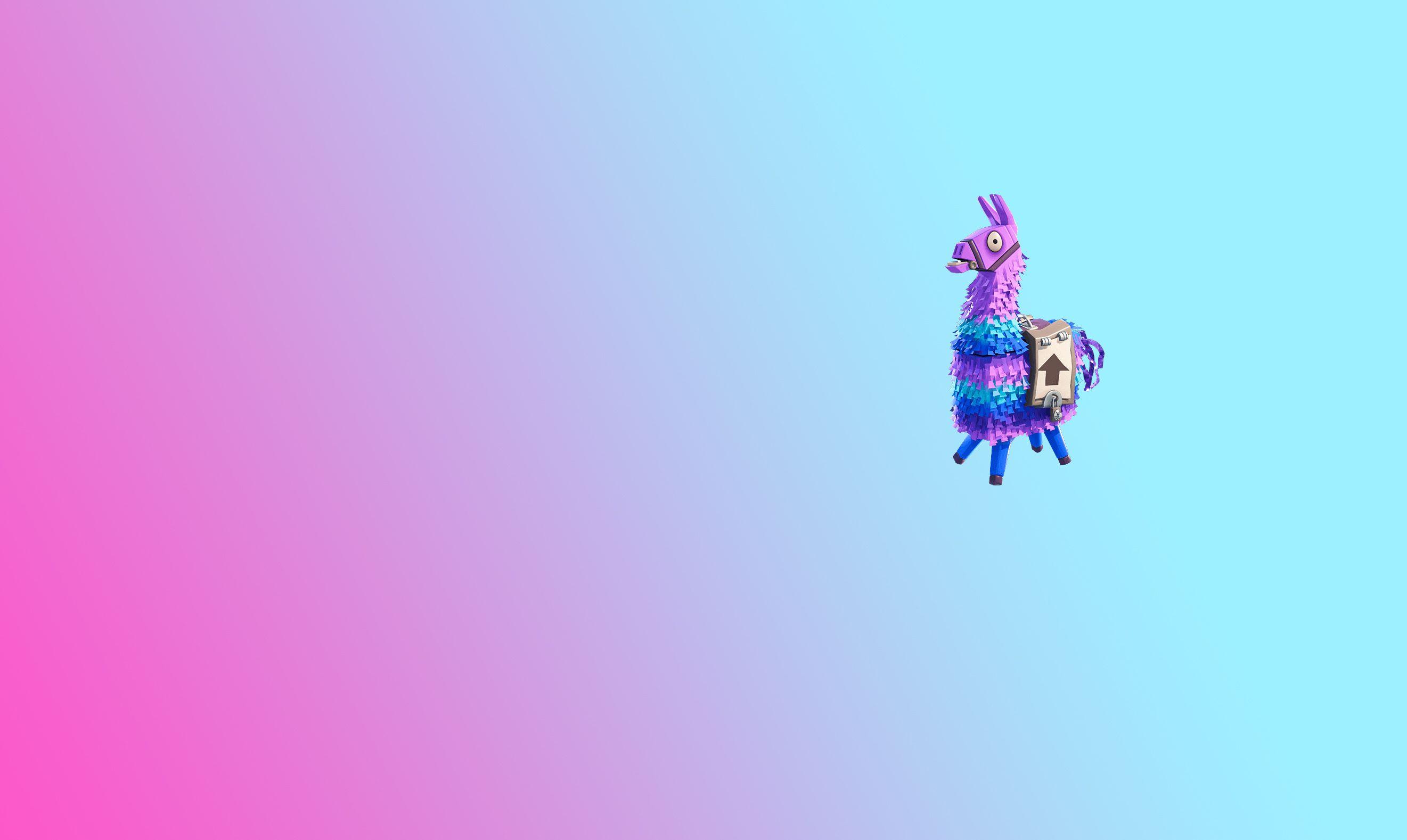 Fortnite   Lama Pinata Background Screensaver V1 Bostezando 2642x1578