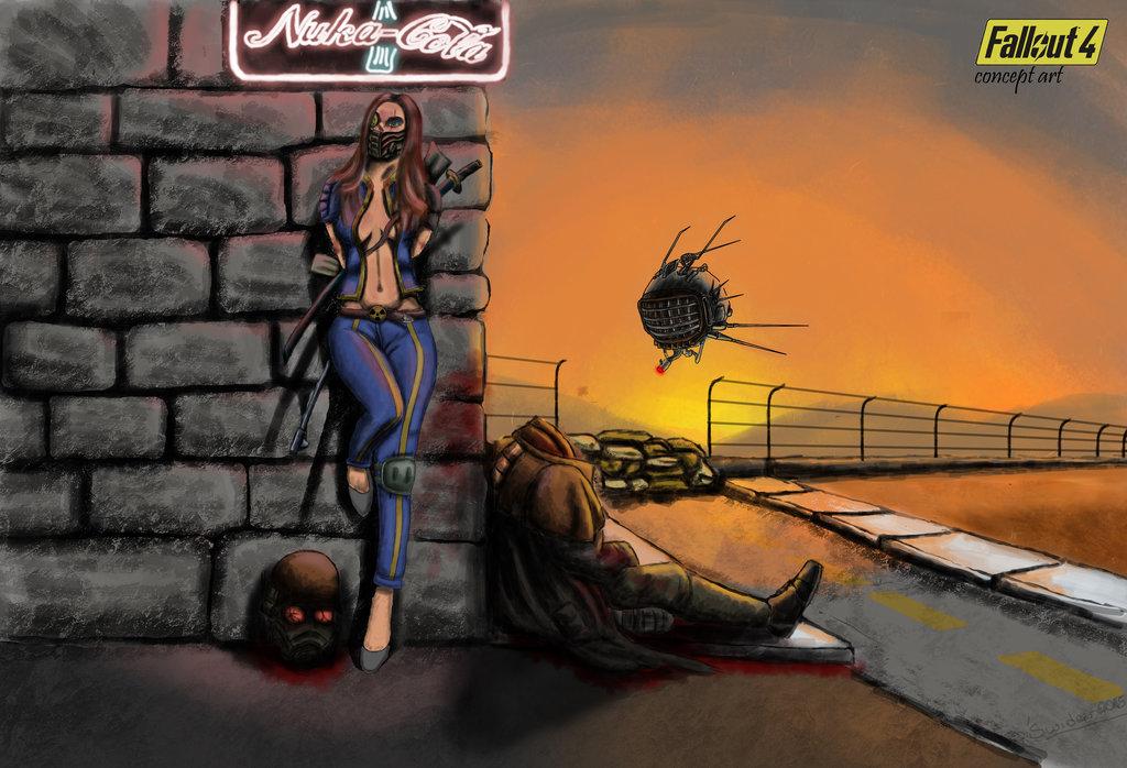 Fallout 4 Concept Art by BartoszSwiderski 1024x698