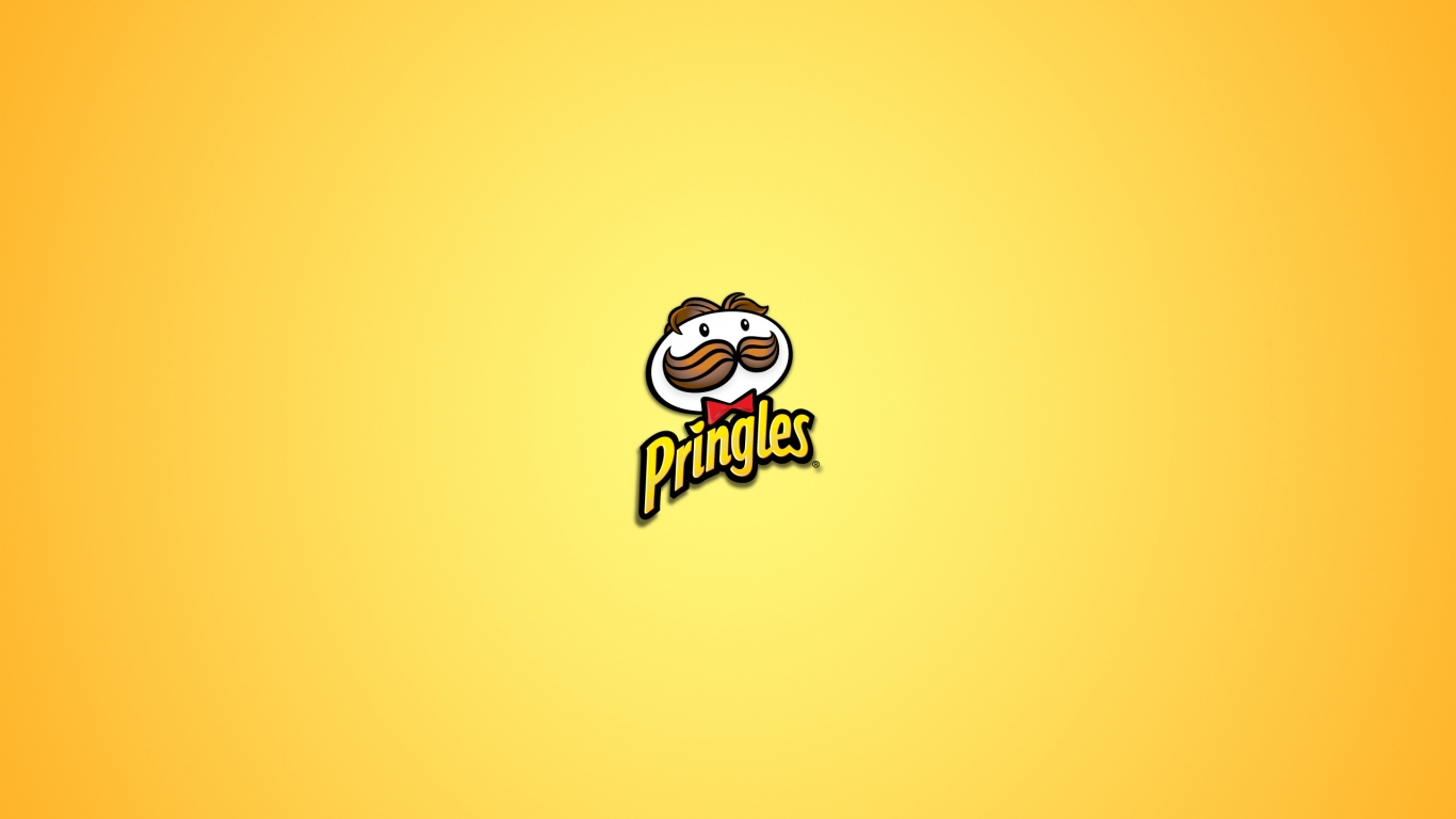 download Pringles Logo Minimalist Art Wallpaper WallpaperzCO 1366x768