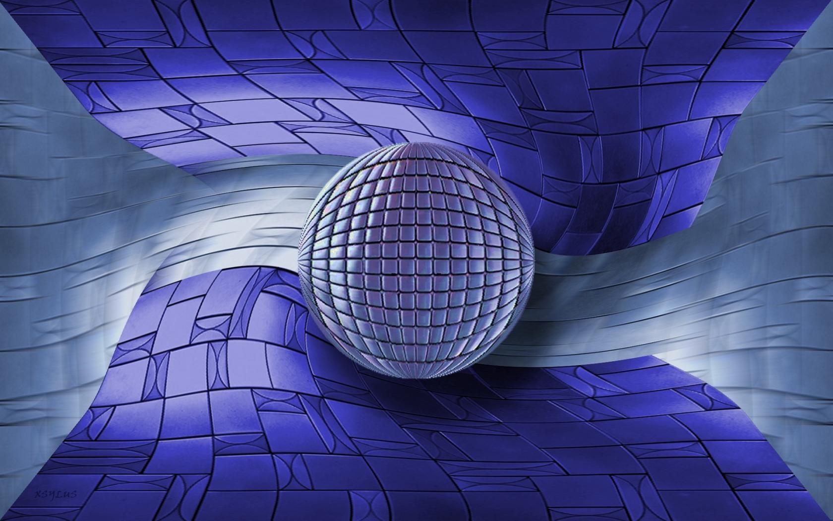 wallpaper wallpaper downloads Ultra Violet Globe 1680x1050
