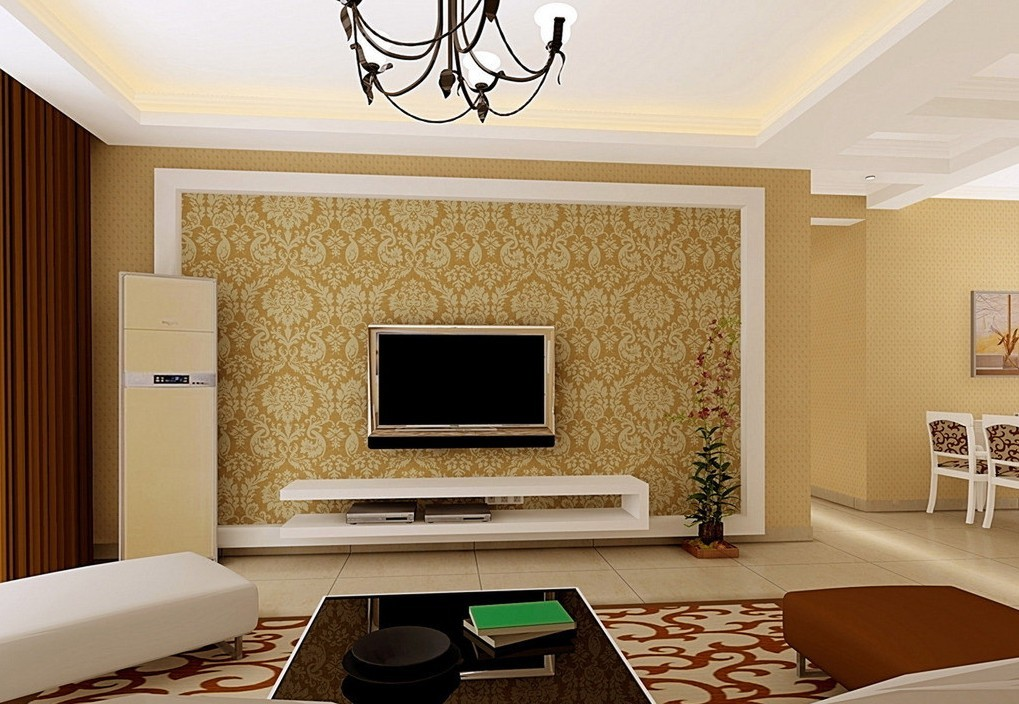 TV wall design 3D house 3D house pictures and wallpaper 1019x704